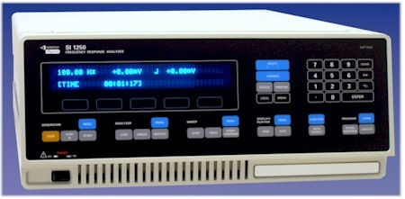 FREQUENCY RESPONSE ANALYZER 1250E