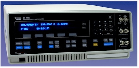 FREQUENCY RESPONSE ANALYZER 1260A